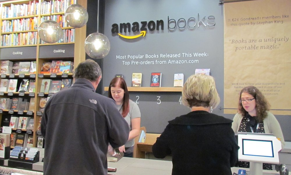 The Amazon bookstore in Seattle. Photograph: Chris McGreal for the Guardian