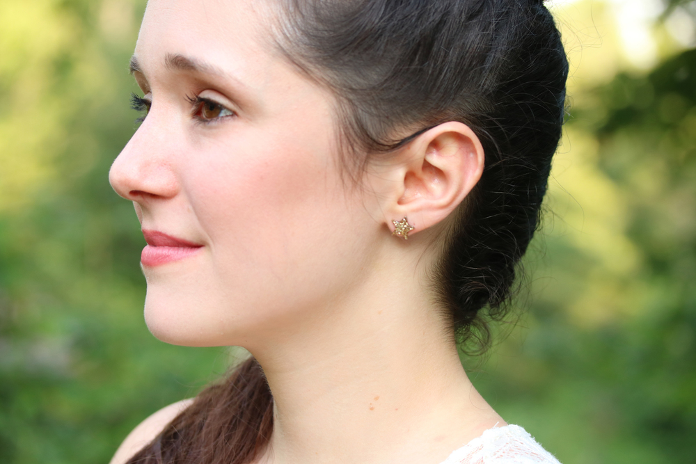 regular star earrings