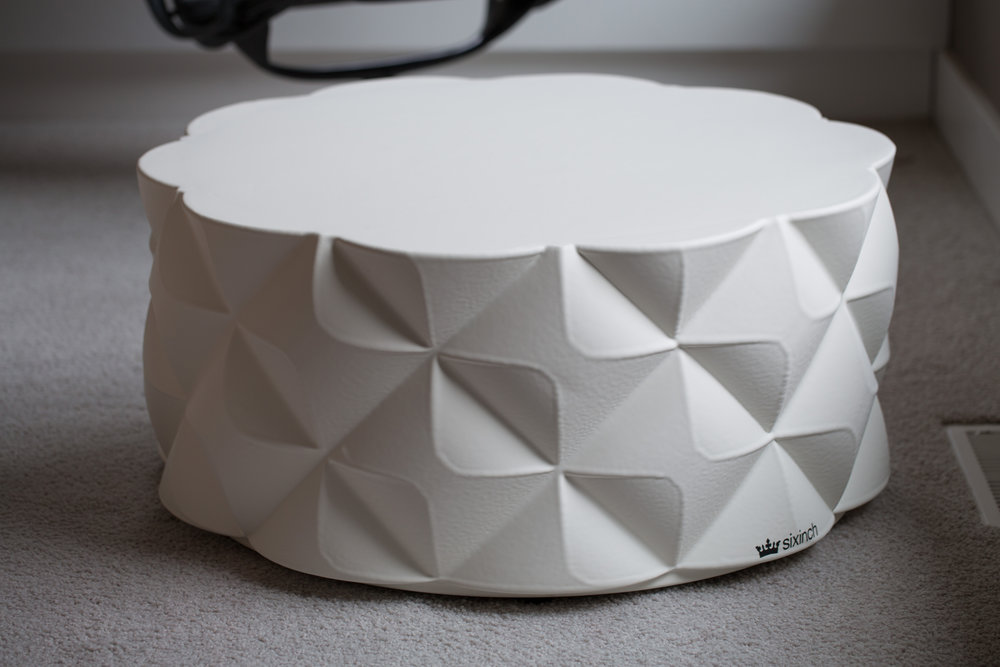 "Sixinch ""Diamond Pouf"""