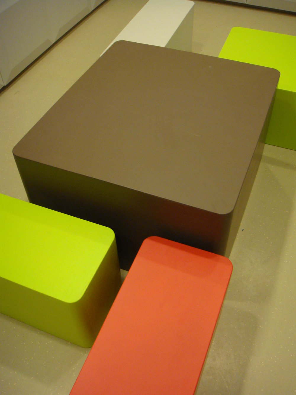 Sixinch custom coated seating