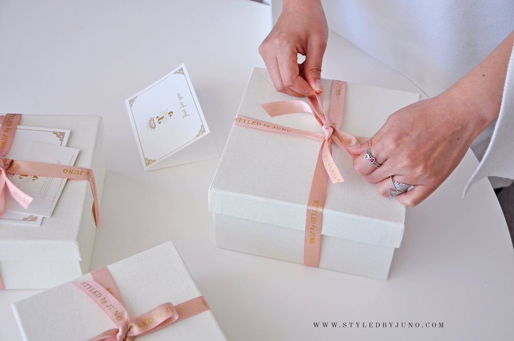 Personalised Gift Box Styled By Juno