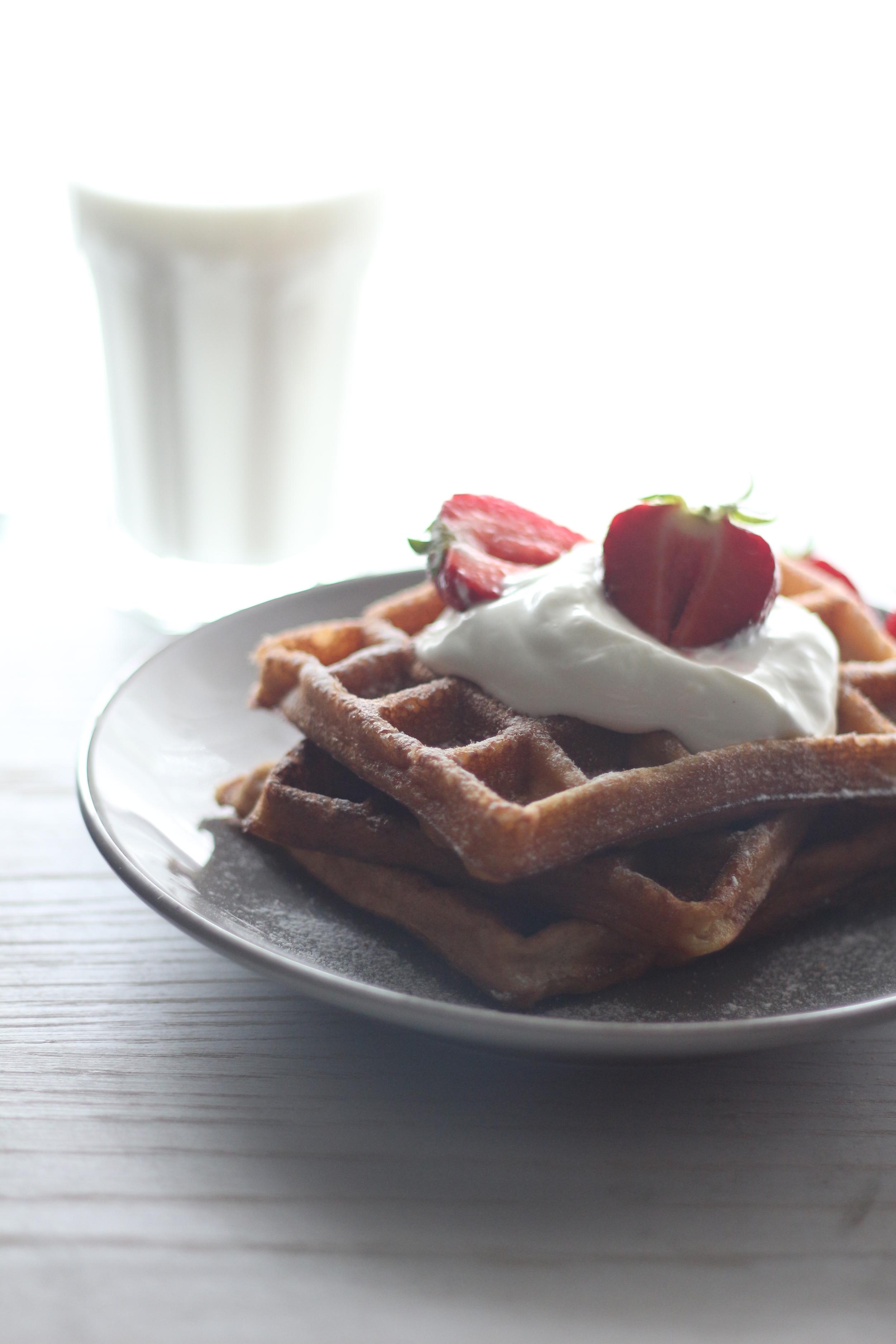 Cinnamon&Vanilla Waffles