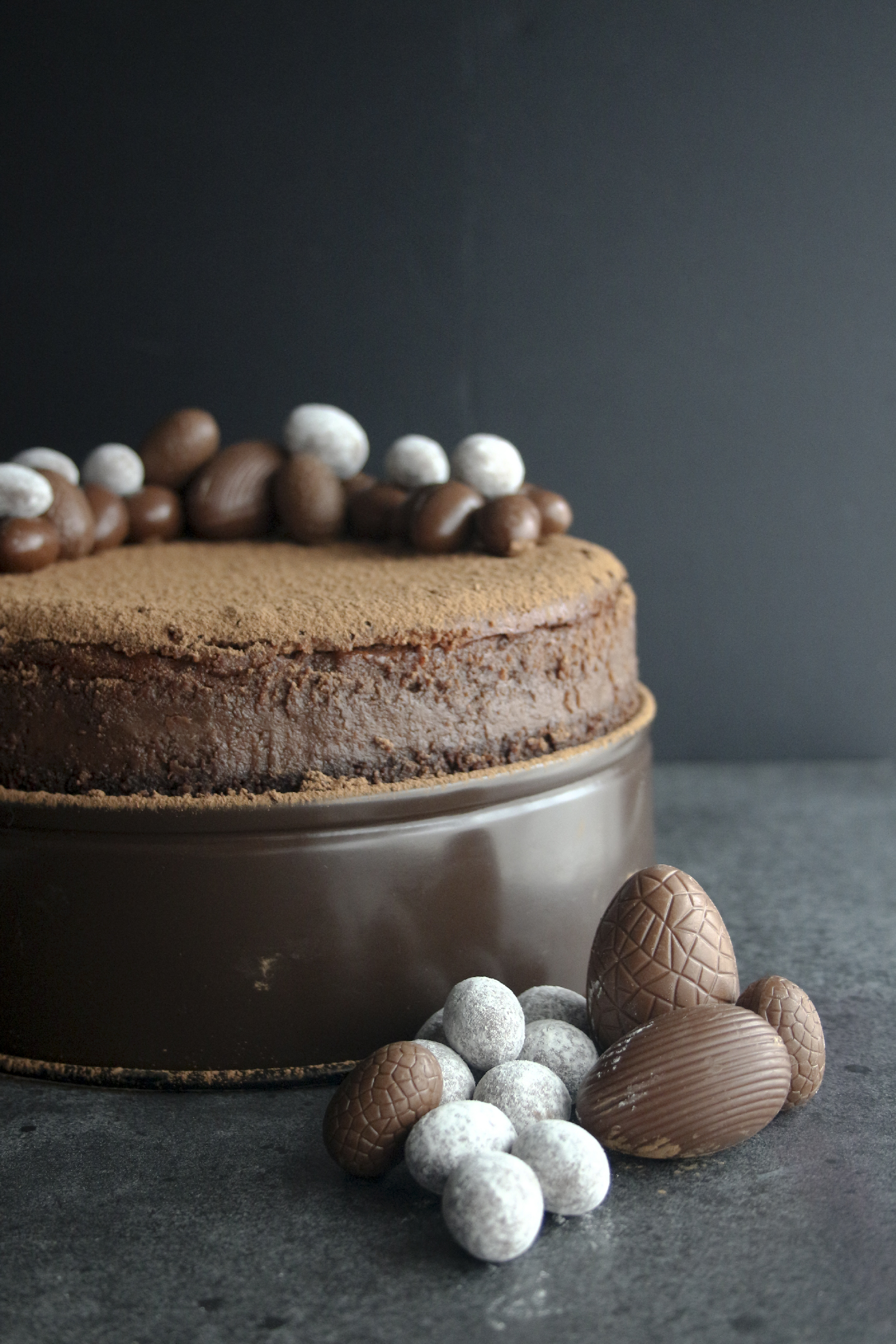 Easter chocolate Cheesecake3