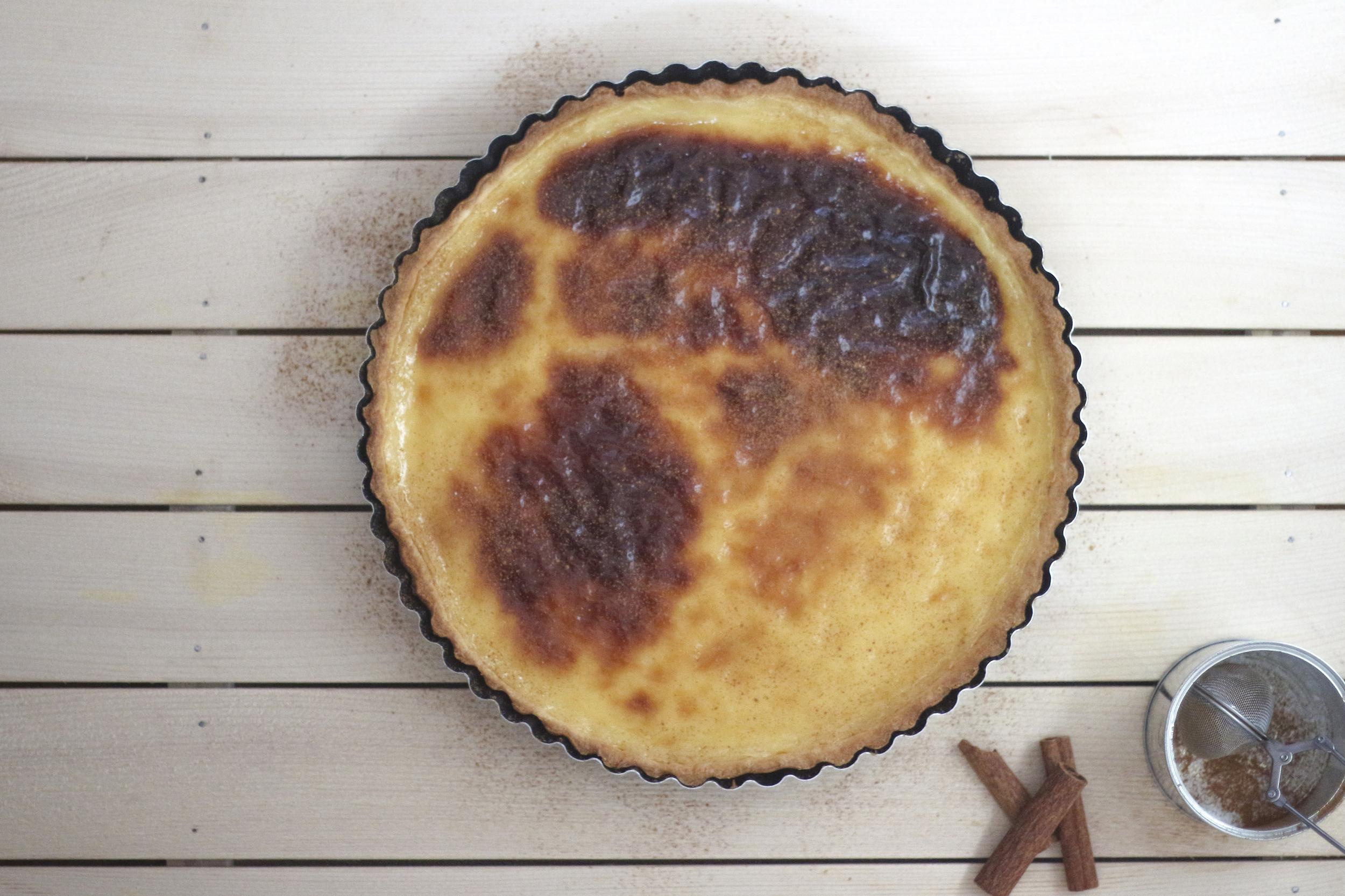 custard tart