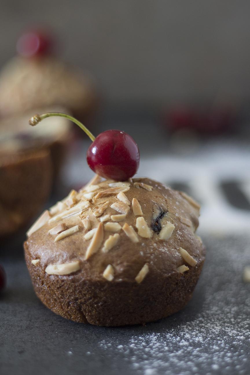 cherry muffins_6