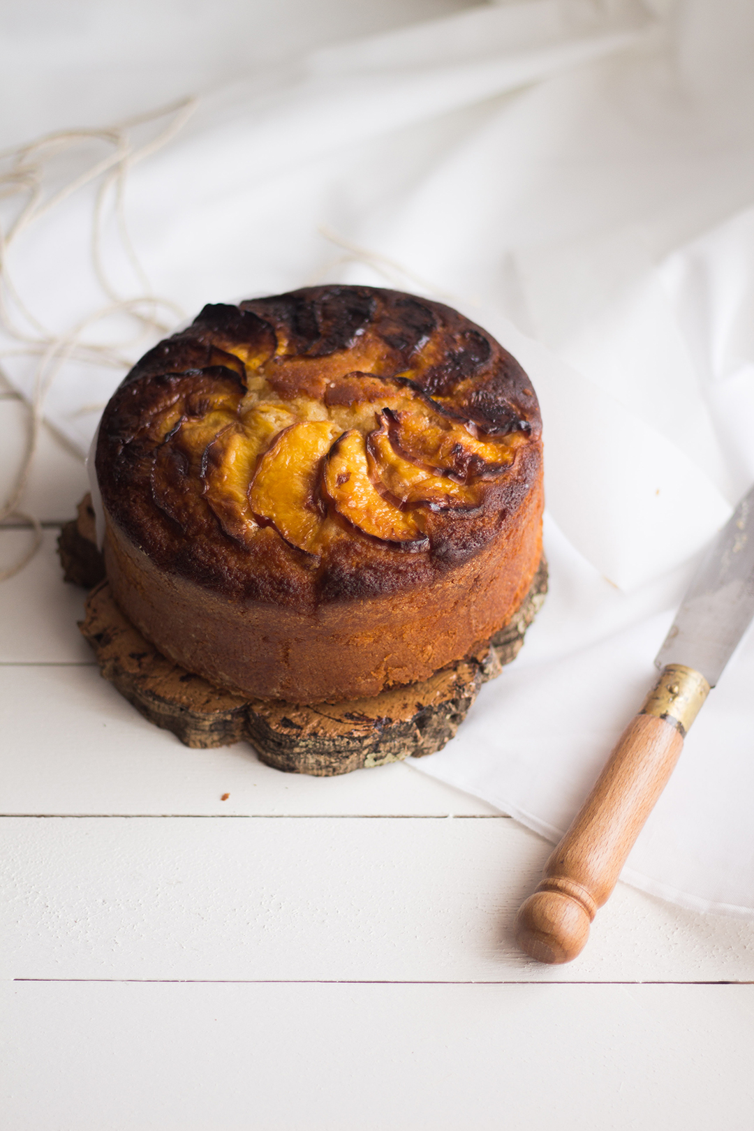 Nectarine&Lemon Cake