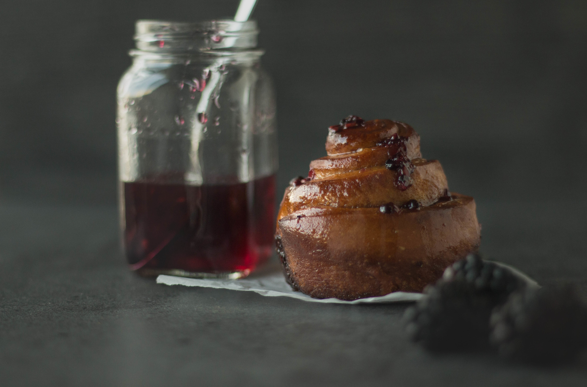 black sticky buns 10