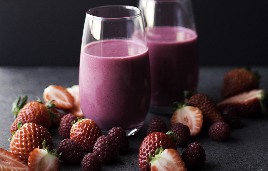 beetroot red fruits smoothie 10
