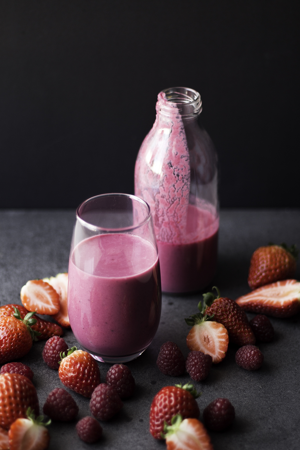 beetroot red fruits smoothie 6