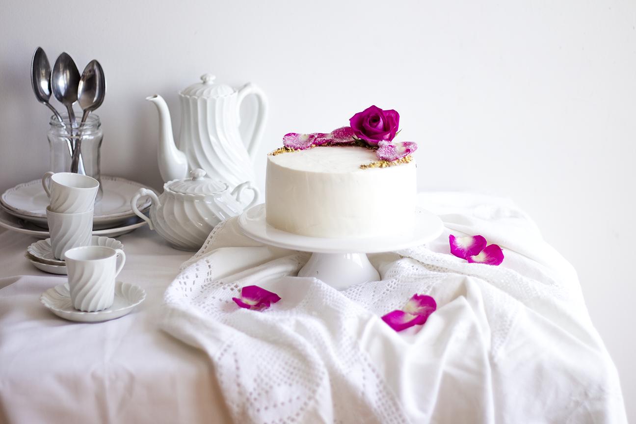 Pistachio Rose Cake4