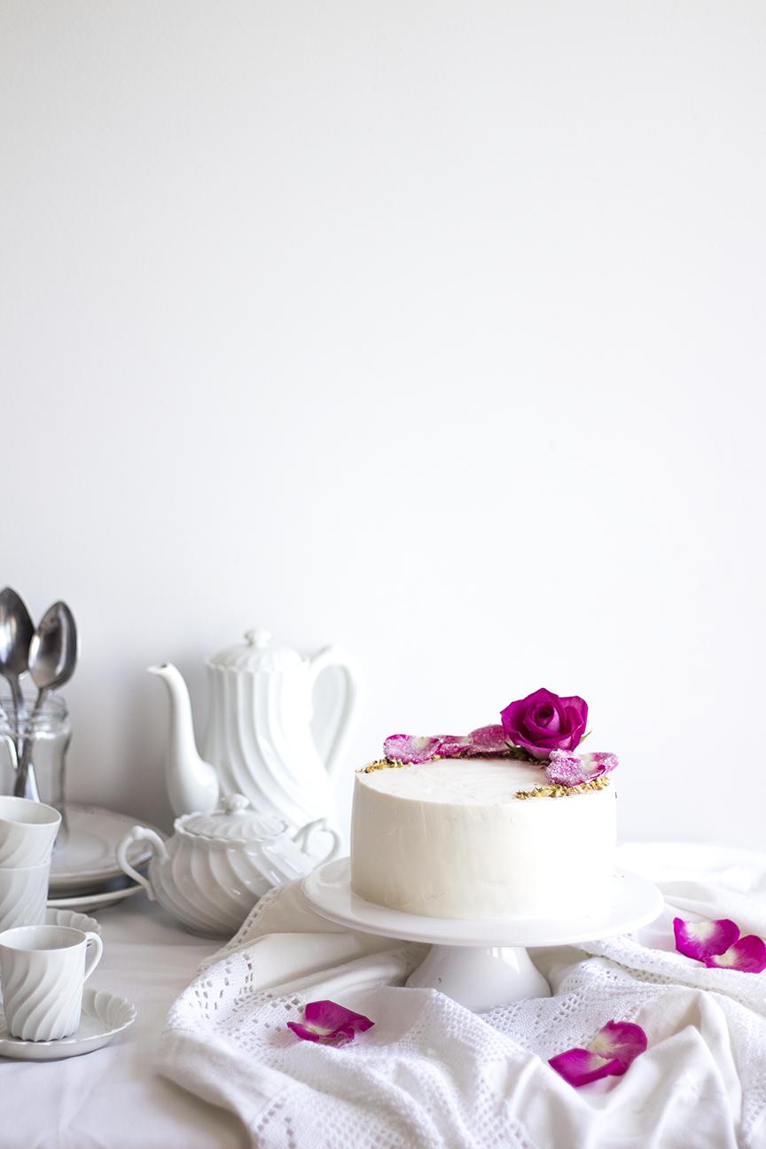 Pistachio Rose Cake6