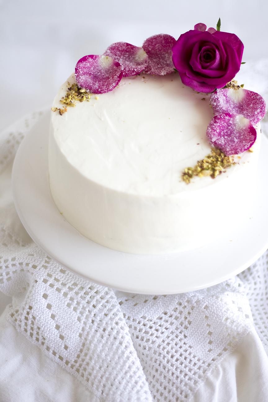 Pistachio Rose Cake7