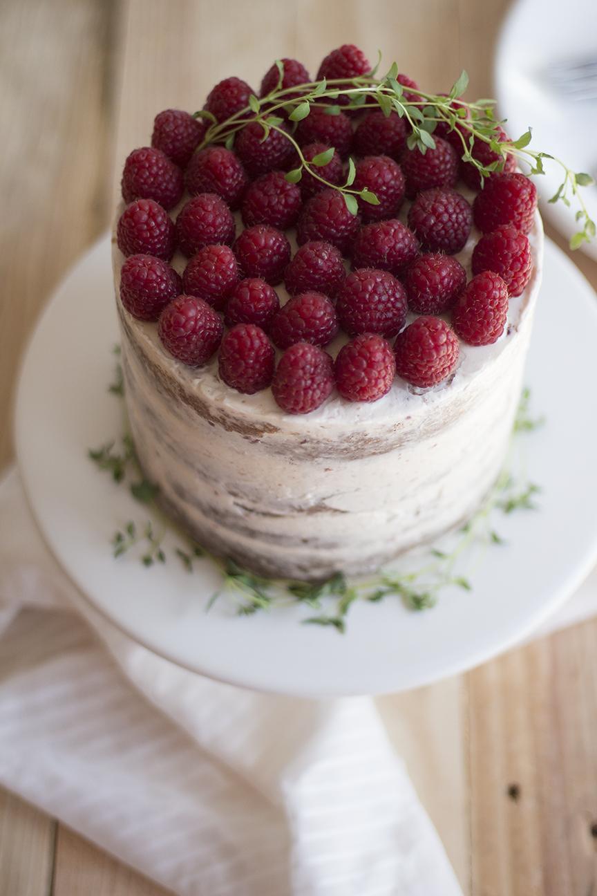 raspberry thyme cake_4