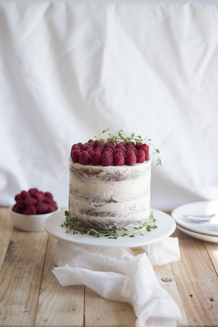 raspberry thyme cake_5