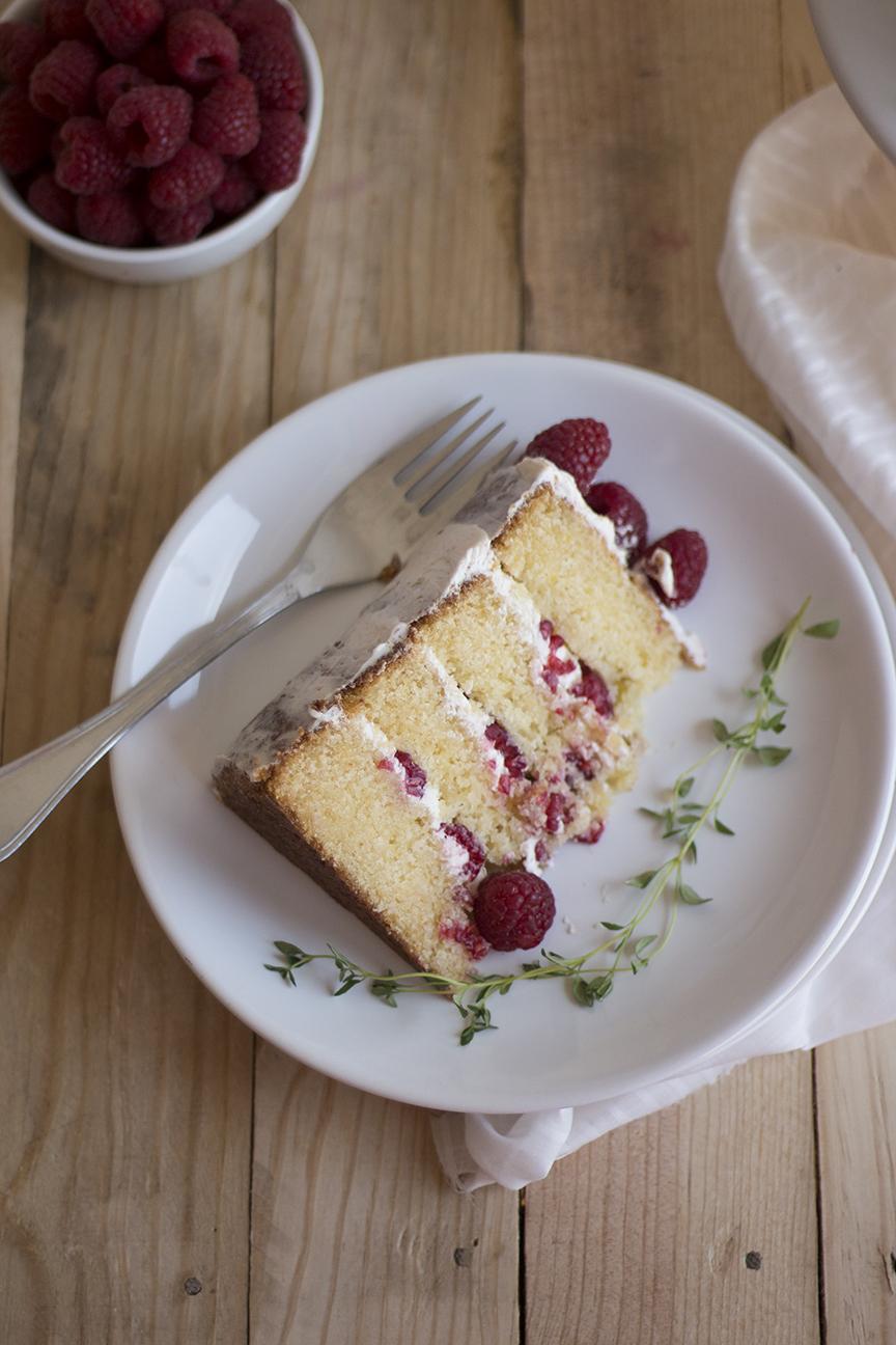 raspberry thyme cake_7