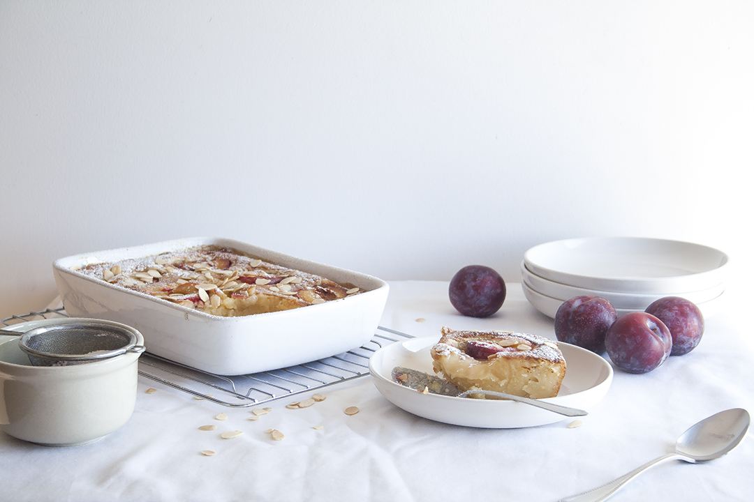 plum clafoutis toasted almond10