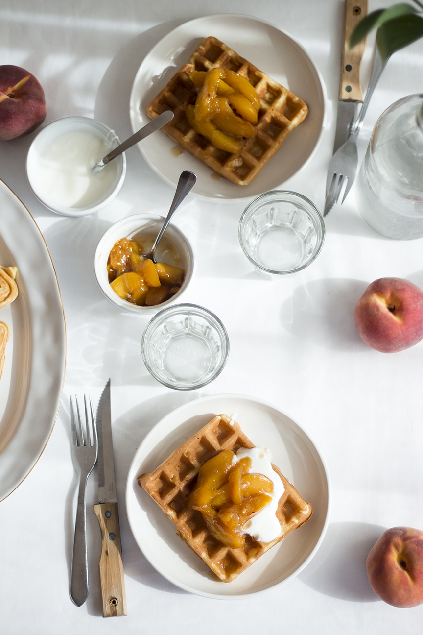 waffles & peaches_8