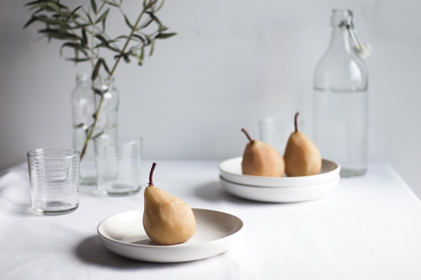 Poached Pears w Pistachio Praline9