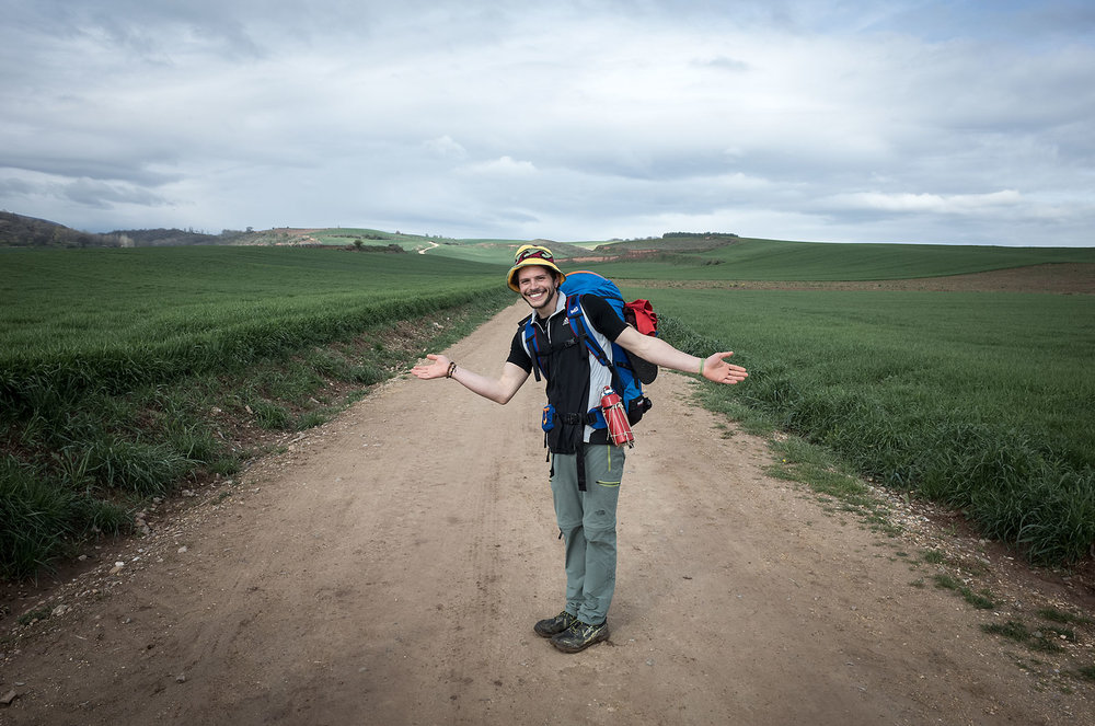 Leonardo (Italian) decided to walk the Camino on the spur of the moment, after a stretch of turbulent life events.