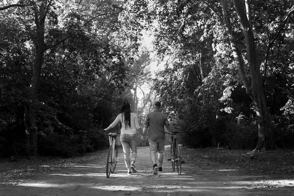 paseo en bicicleta, parque villariño, fotografo de bodas en rosario, fotografia de casamientos en rosario, rodrigo trujillo fotografia