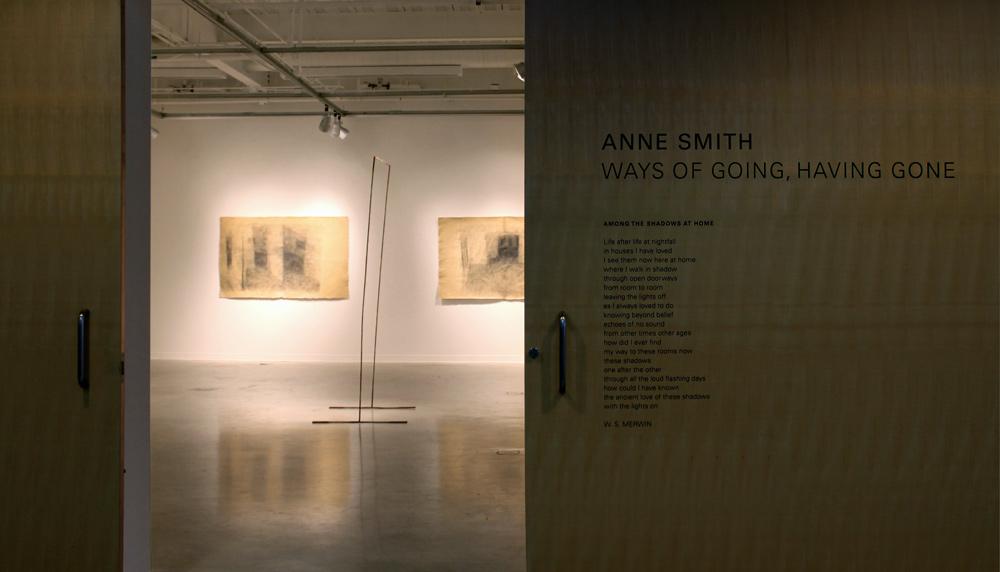 Install view, Ways of Going exhibit