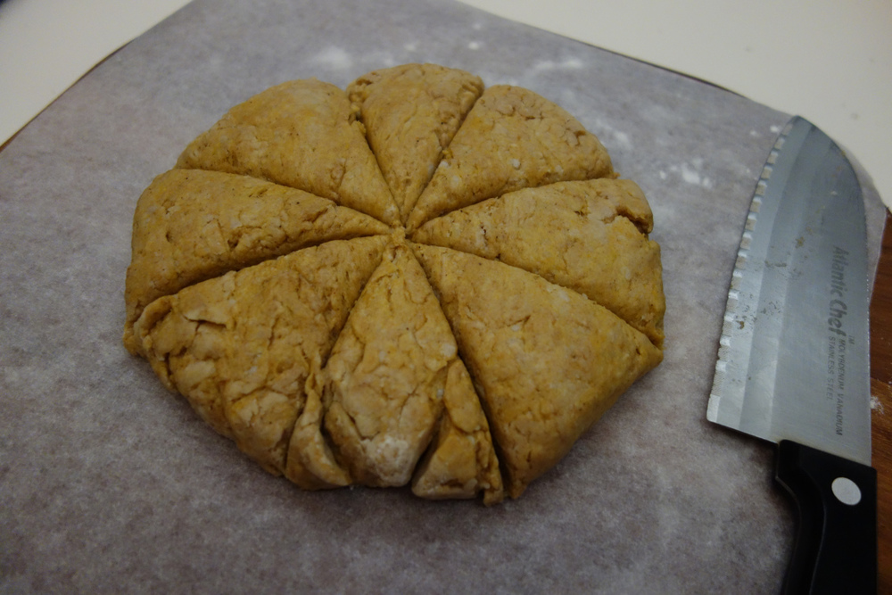 pumpkin-scone-fall-pastry-dough