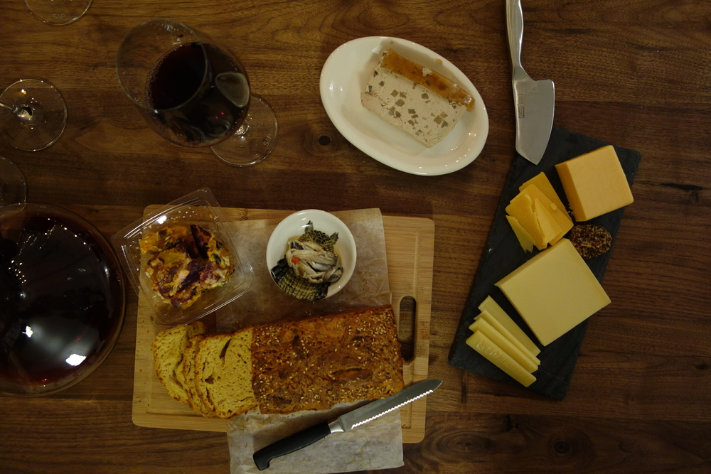 sunday-supper-manchego-bread-grilled-cheese-night-spread