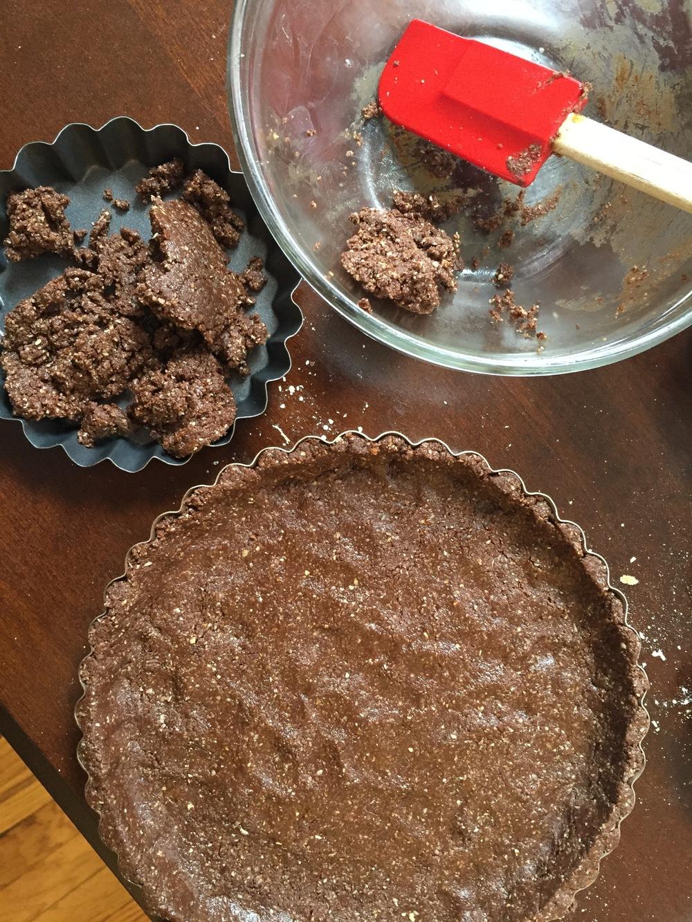 matcha-tart-crust