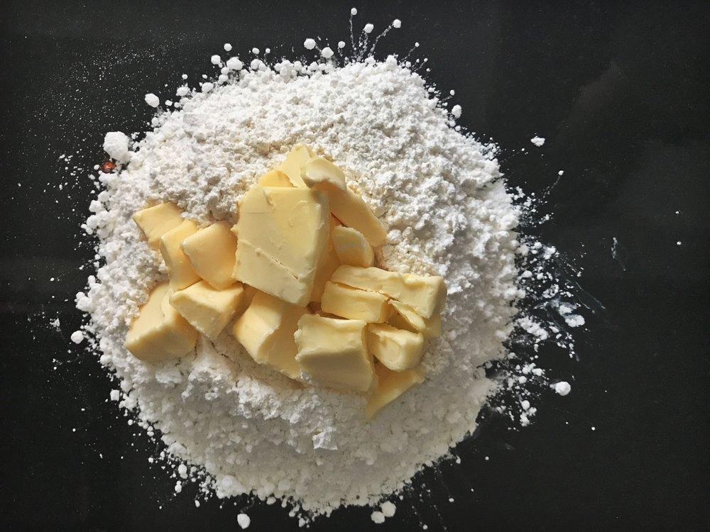 pate-brisee-flour-butter