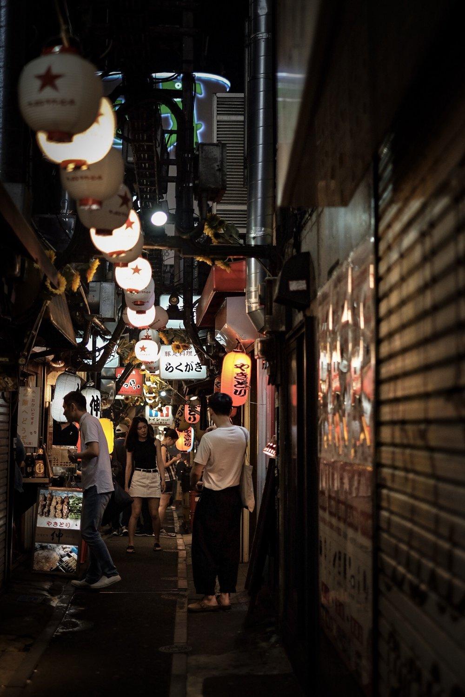 思い橫丁 居酒屋街omoide yokocho - casual japanese bars crammed in small alleys