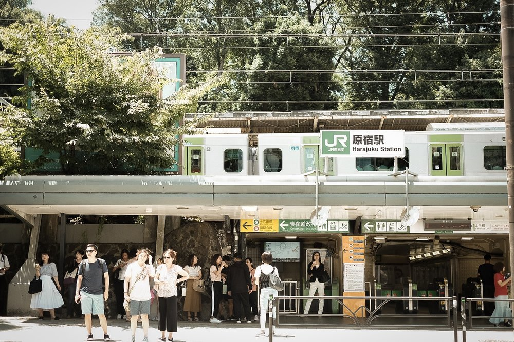 JR harajuku station