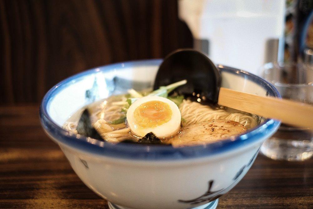 afuri ramen in harajuku 柚子鹽拉麵