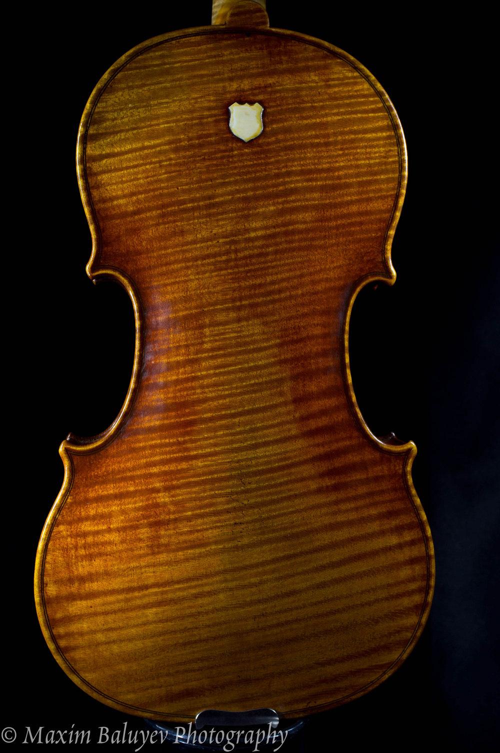 Ernst Heinrich Roth violin 1930 Stradivari 1725 copy