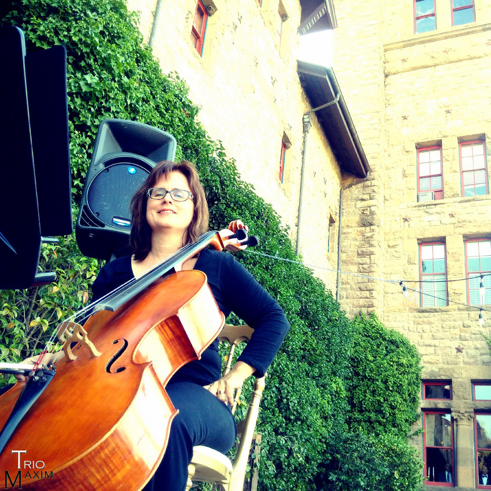 Jennifer Butler - cello Trio Maxim