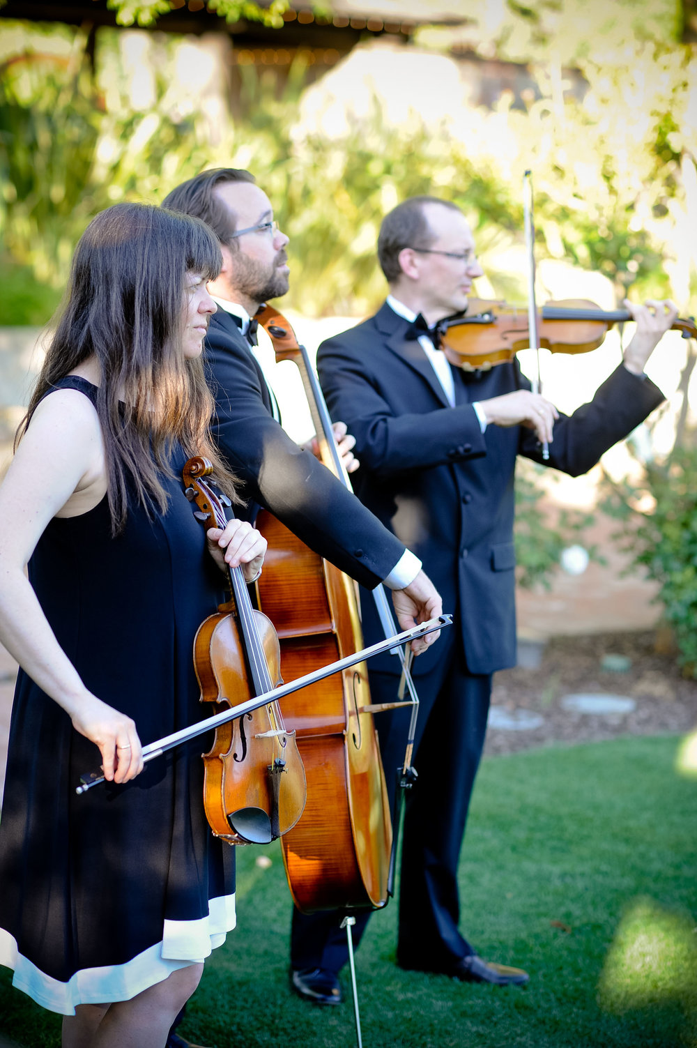 Trio Maxim performs at Vintage Estates in Yountville, CA