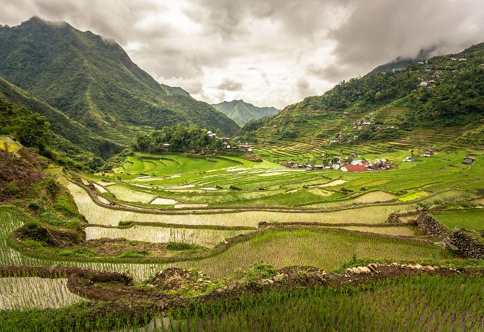 Batad rice terraces, Philippines, Unesco World Heritage site