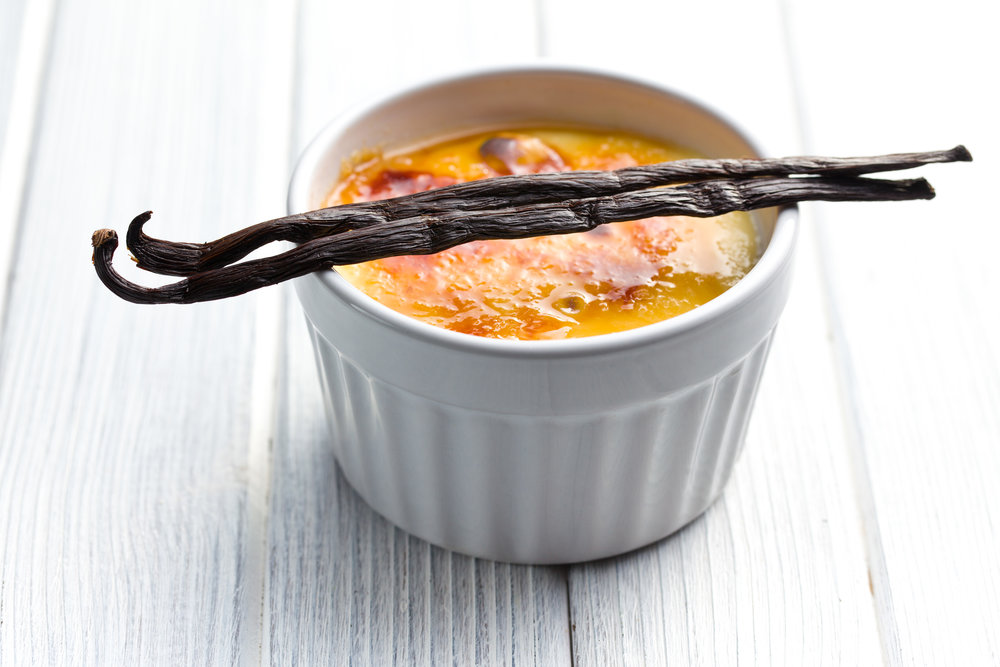BAKED HONEY CUSTARD