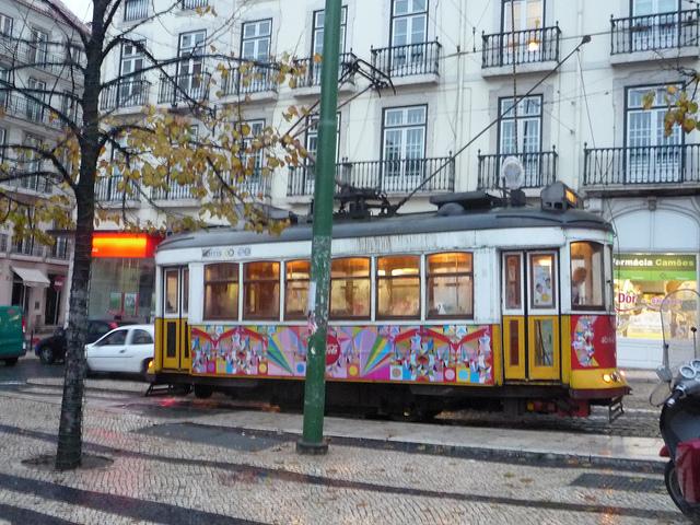 The classic tram