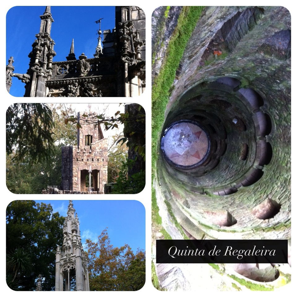Built by an eccentric gazillionaire, the Quinta de Regaleira palace was full of curious rooms and gorgeously gothic architecture.