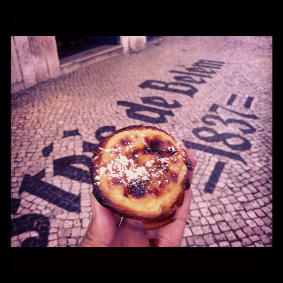 The famous, original Portuguese Tart. So famous that no one in the family that makes this is allowed to fly on the same plane together in case the plane crashes and the lose the recipe! I came back everyday to eat at least one.