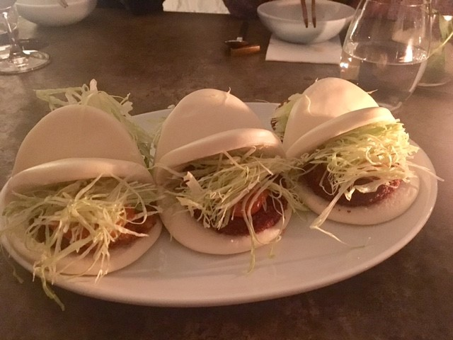 Pork Katsu Steam Bun  - one of my favorite dishes of the night