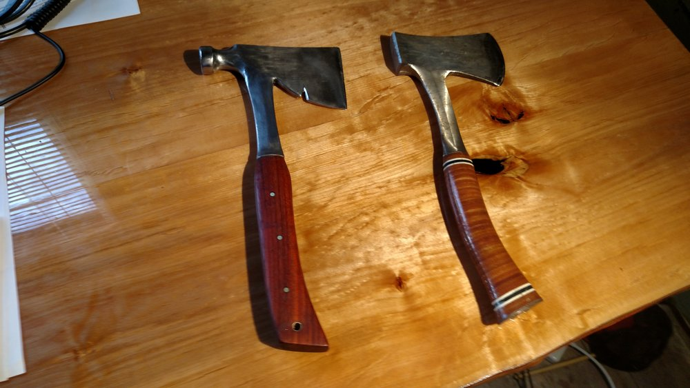Restored hatchet vs store bought hatchet from the same company.