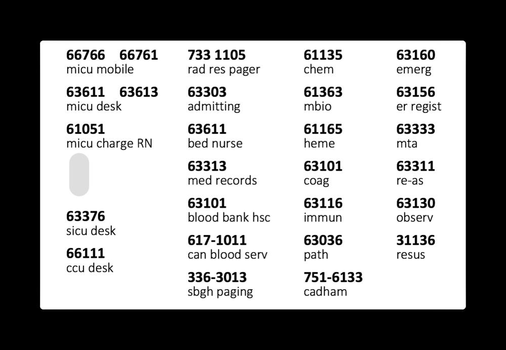high data density phone card
