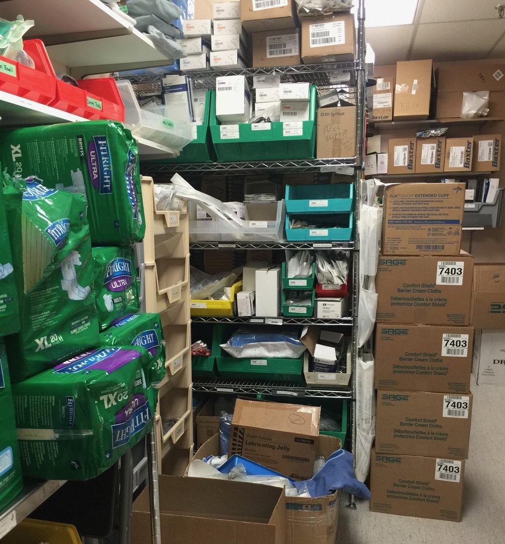 Stocking Hospital Supply Rooms (Two-Bin Kanban) — Gregory
