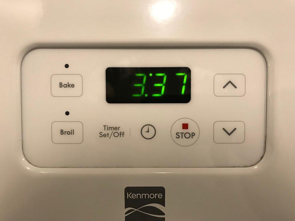 kenmore oven 1