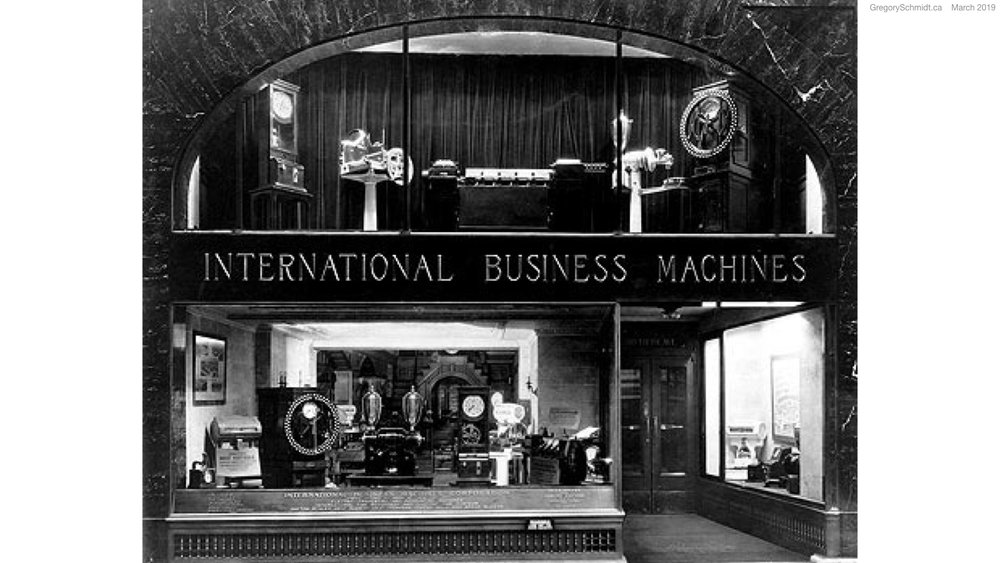 Image from  IBM Archives