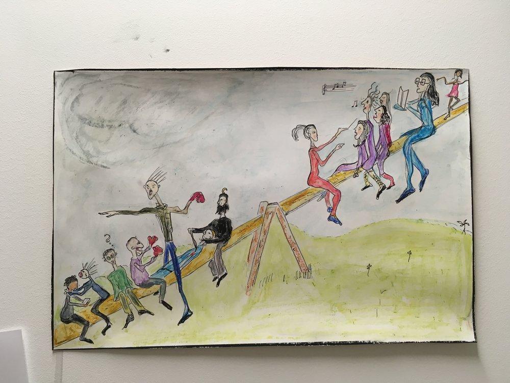 Illustrasjon til artikkelen « Gutta som taper ».