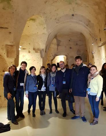 In foto da sinistra: Francesca Alberghina, Giuseppe Milazzo, Irene Salvo, Valentina Palermo, Elvira Nicolini, Antonio Castano, Giorgio D'Anna, Chiara Ficarra
