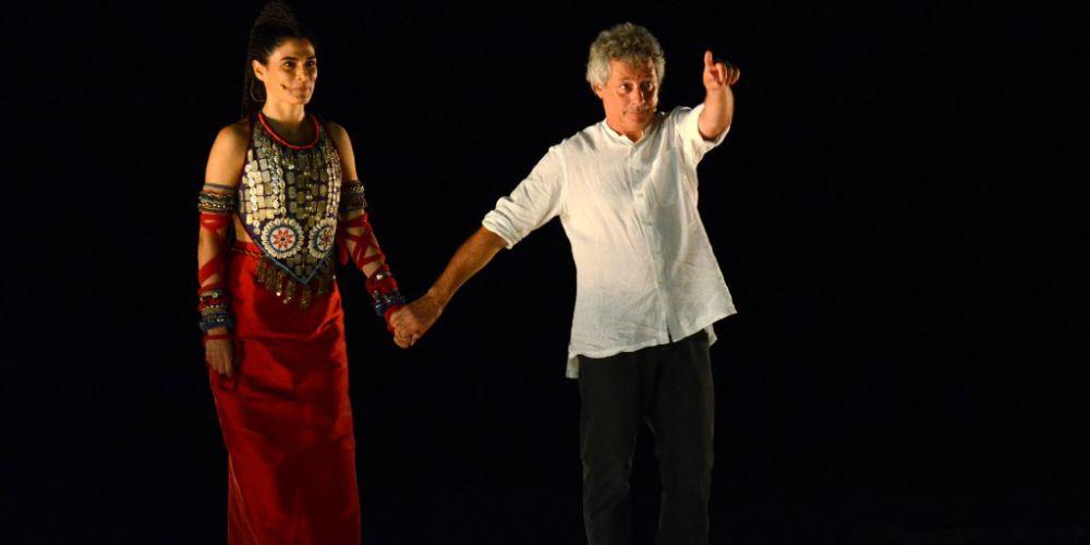 Valeria Solarino e Alessandro Baricco narrano  Palamede