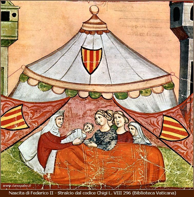 Costanza d'Altavilla Stupor Mundi codice Chigi